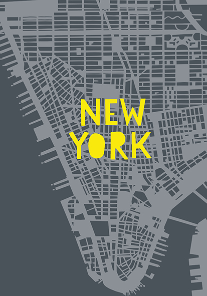 NYC Poster A4