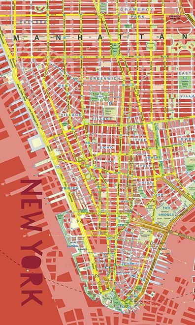 Lona NYC roja baja web